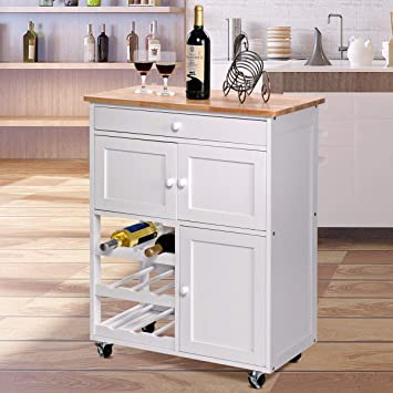 Amazon.com - Alek...Shop Deluxe Design Modern Trolley Cart ...