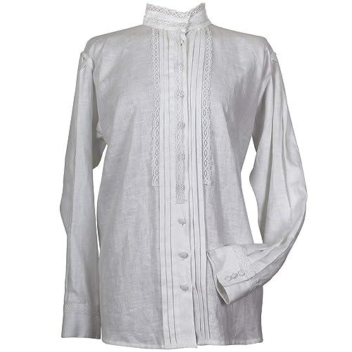 Camisa tradicional para mujer. Modelo Agolada: Amazon.es: Handmade