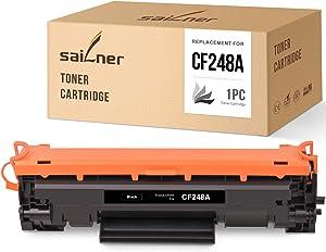 SAILNER Compatible Toner Cartridge Replacement for HP CF248A 48A use with Laserjet Pro M15w M15a M15 MFP M29w M29a M29 M28 M28w M28a (Black, 1 Pack)