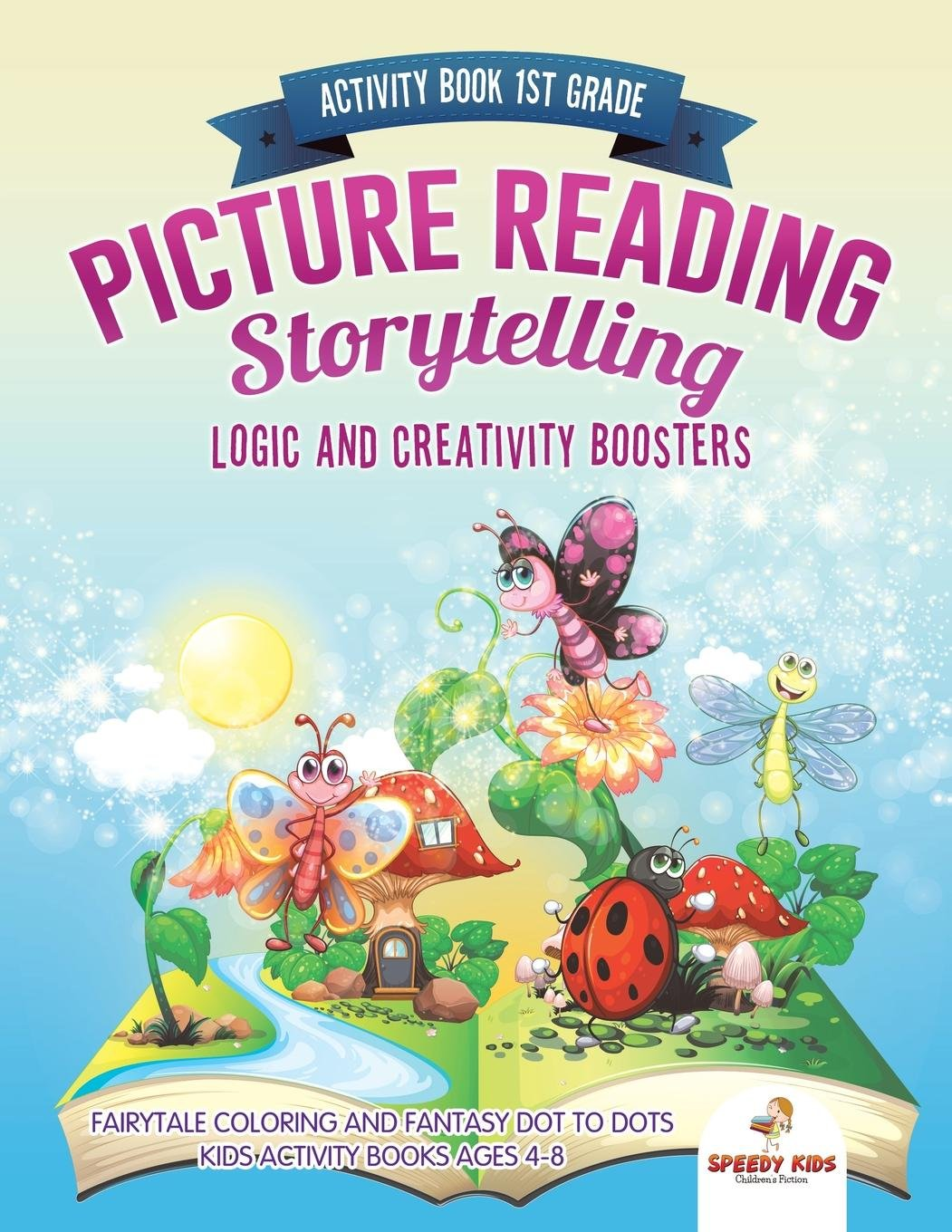 Activity Book 1st Grade  Picture Reading Storytelling  Logic