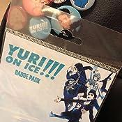 Amazon.com: Yuri en hielo – 6 piezas botón/Pin/Badge Set ...