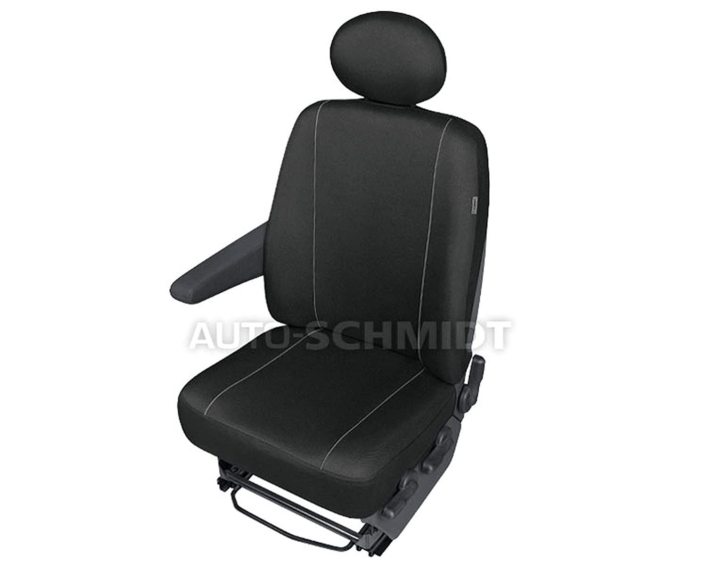 ZentimeX Z737106 Sitzbezü ge Fahrersitz / Einzelsitz Armlehne rechts Stoff schwarz mercedes