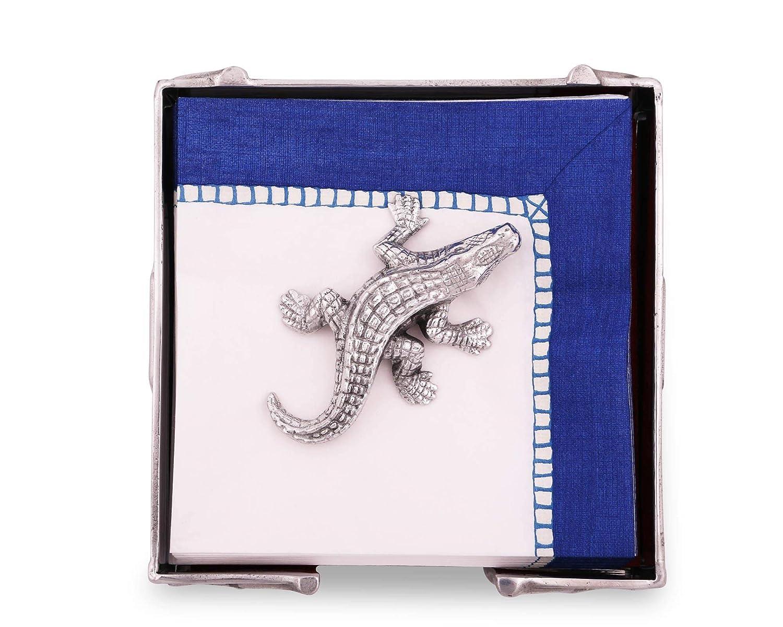 Arthur Court Alligator Napkin Weight   B00AUYS738