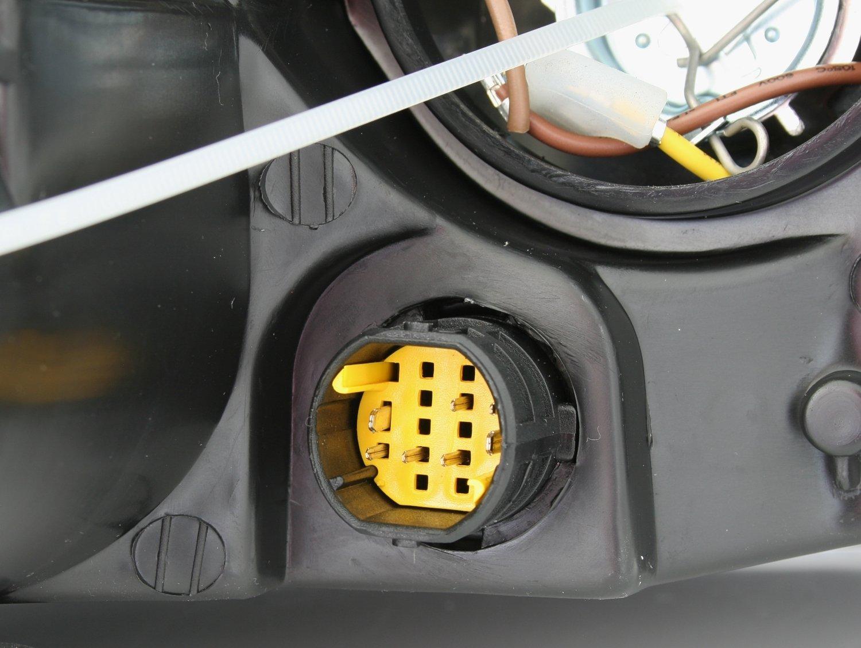 KG DEPO Scheinwerfer Linke Seite Fahrerseite H1 H7 f/ür LWR AD Tuning GmbH /& Co