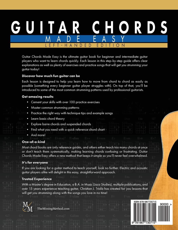 Amazon Left Handed Guitar Chords Made Easy Level 1 Basic