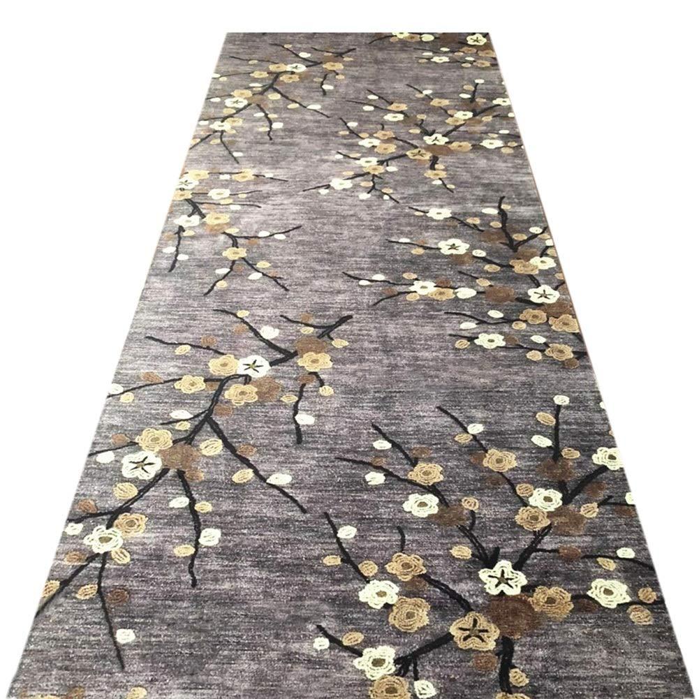 JIAJUAN Läufer Teppiche Flur Lange Teppich Teppich Teppich Rutschfest Küche Bedside Balkon Eng Halle, 7mm, 2 Farben, Mehrere Längen, Anpassbare (Farbe   A, größe   1x1m) B07L269TQH Lufer cfe7c1