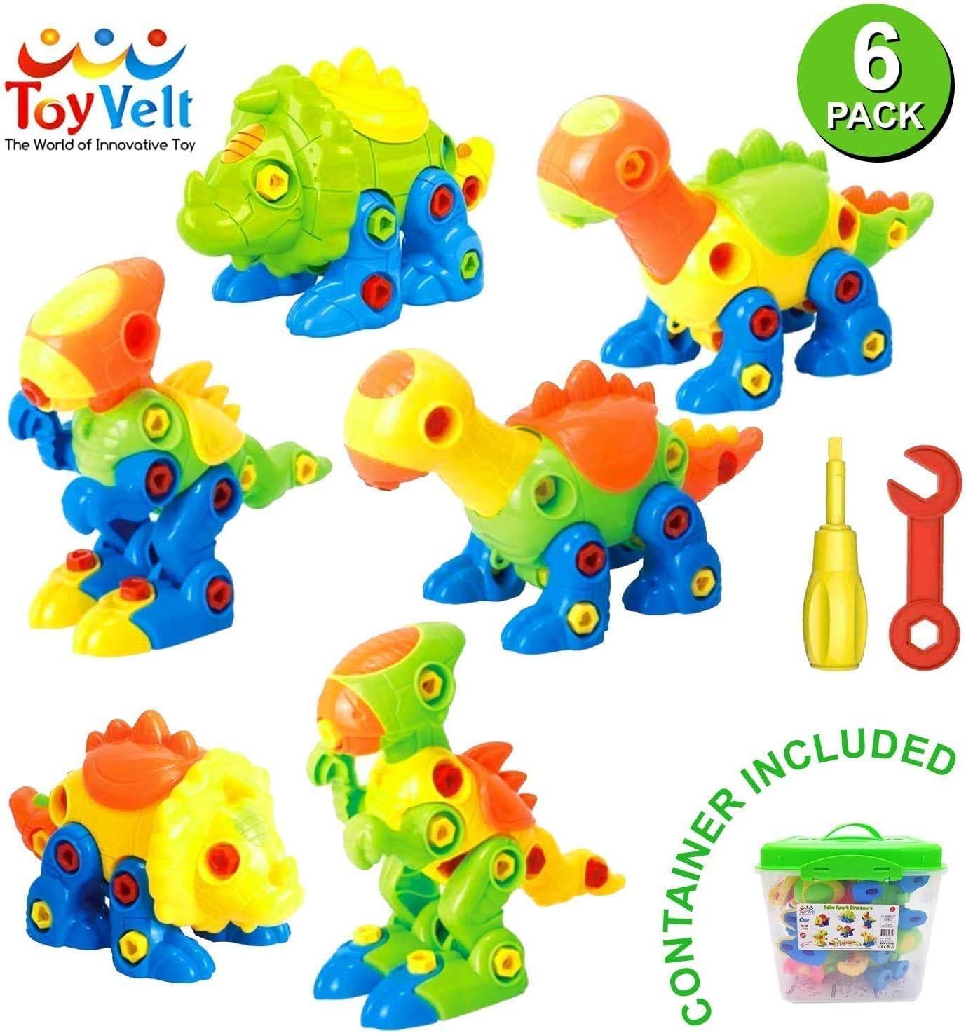218 piec Dinosaur Take Apart Stem Toys for Boys /& Girls Age 3-12 years old