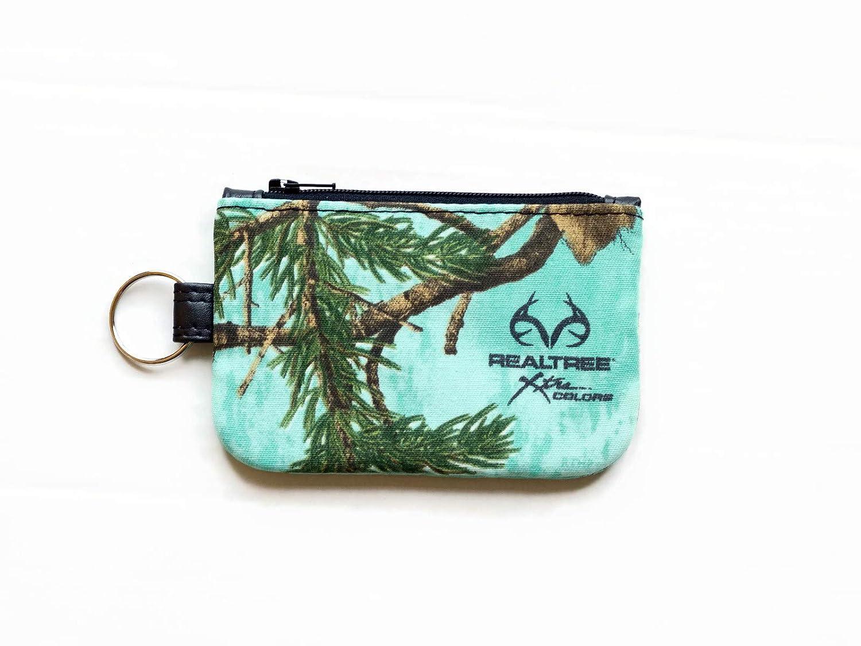 Amazon.com: Realtree Mint Camo Keychain Wallet