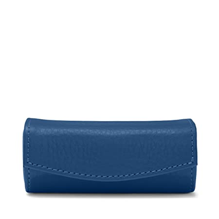 Leatherology Cobalt Lipstick Case