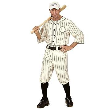WIDMAN Jugador de béisbol - Adulto Disfraz - XL - 54/56 ...
