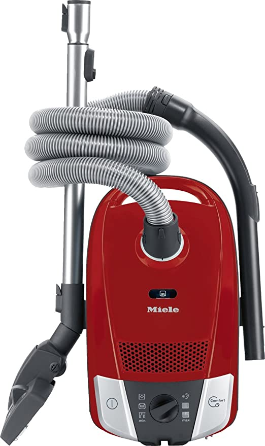 Miele Compact C2 Ecoline Aspirador de trineo, 800 W, 3.5 litros, Mango red: Amazon.es: Hogar