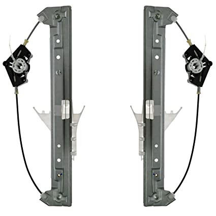 Amazon.com: Front Power Window Regulator Pair Set Kit for Chevy Equinox Buick Torrent: Automotive