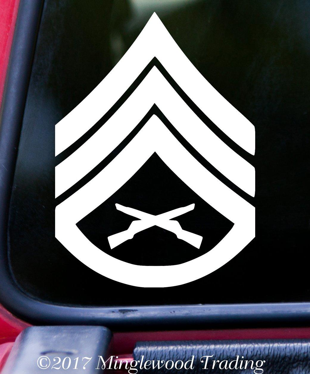USMC E - 6 Staff Sergeant Insignia 4