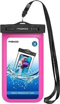 MoKo Funda Impermeable - Waterproof Brazo y Cuello Compatible para ...