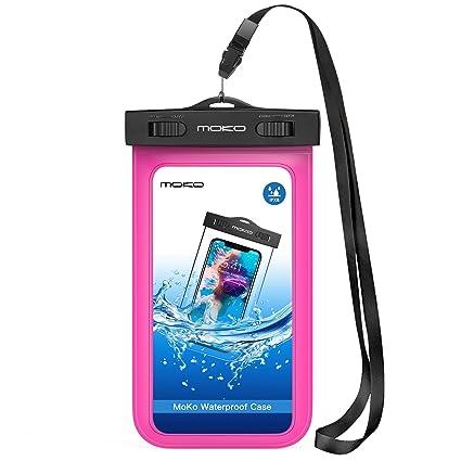 Amazon.com: Carcasa impermeable con accesorios para celular ...