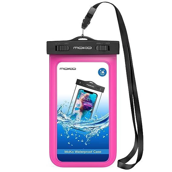 Amazon.com  MoKo Waterproof Phone Pouch 11c028dba90cd