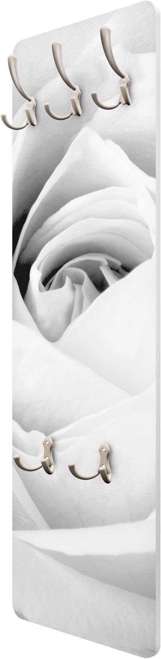 Appendiabiti da Parete Appendiabiti /Pretty White Rose 139/x 46/x 2/cm,/ Appendiabiti Apalis Appendiabiti/ Appendiabiti da Parete /Appendiabiti attaccapanni Dimensioni Hxw: 139/cm x 46/cm
