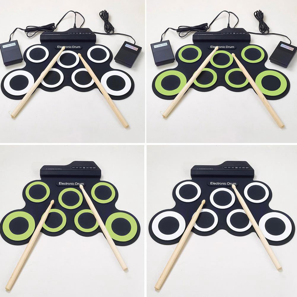 Niceou Portable Electronic Drum Roll Up USB Drum Silicon