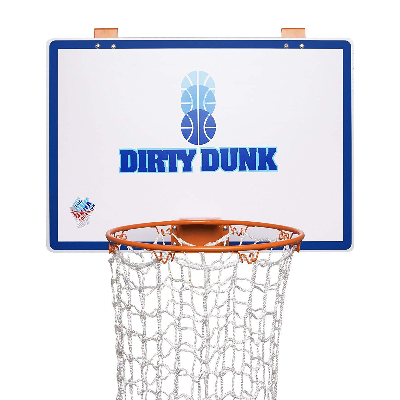 Dirty Dunk - The Original Over-The-Door Basketball Hoop Laundry Hamper