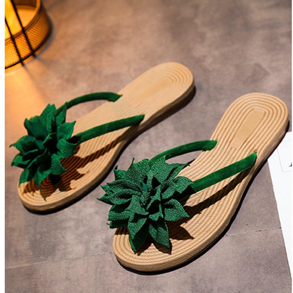 GIY Womens Ladies Flip Flops Slippers Anti-Slip Slip On Dressy Thongs Summer Beach Casual Flat Sandals by GIY (Image #3)