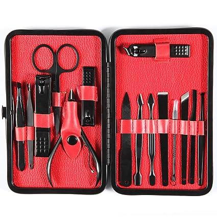 Cortaúñas, Set de herramientas de pedicura para manicura ...