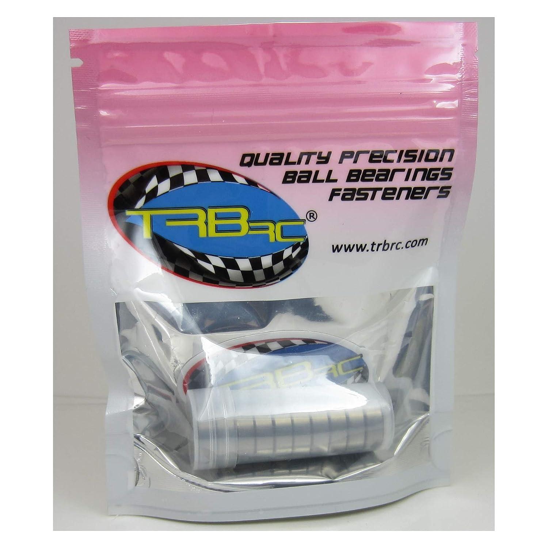 TRB RC 6x15x5mm Precision Ball Bearings ABEC 3 Metal Shields 10 696 ZZ