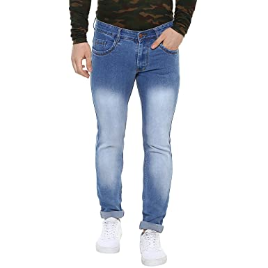 Urbano Fashion Men's Slim Fit Denim Jeans Stretchable Men's Jeans at amazon