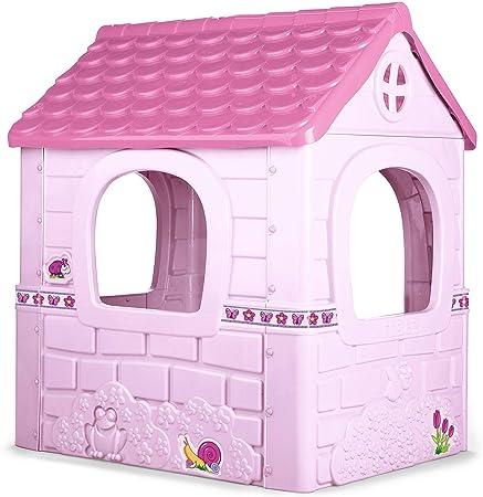 Fantasy house es una casita infantil de feber con puerta abatible,Colores muy luminosos resistentes