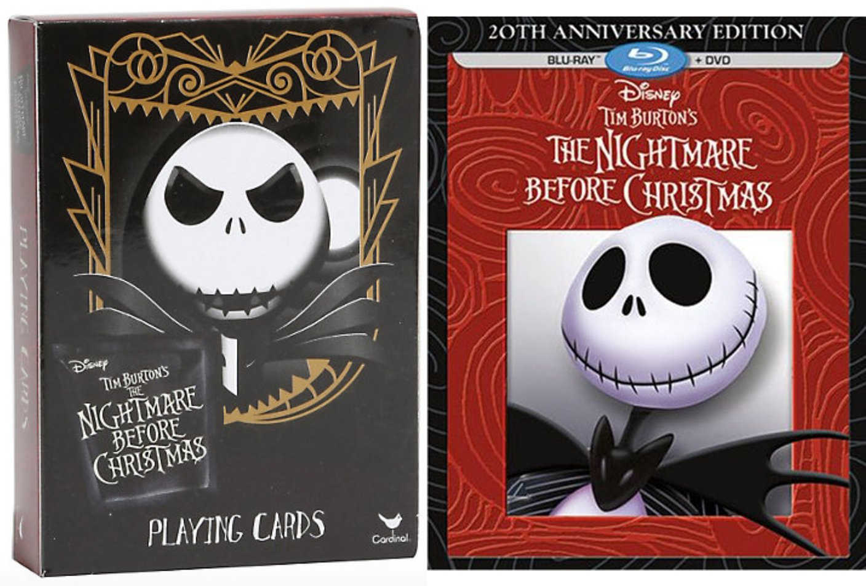 Amazon.com: The Nightmare Before Christmas Blu Ray & Playing Card ...