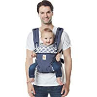 Ergobaby 360 All-Position Baby Carrier with Lumbar Support (12-45 Pounds), Elephant Dance