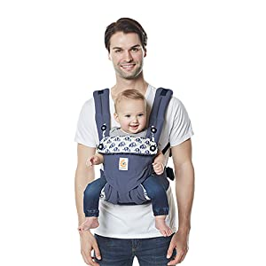 Ergobaby Carrier, 360 All Carry Positions Baby Carrier, Elephant Dance