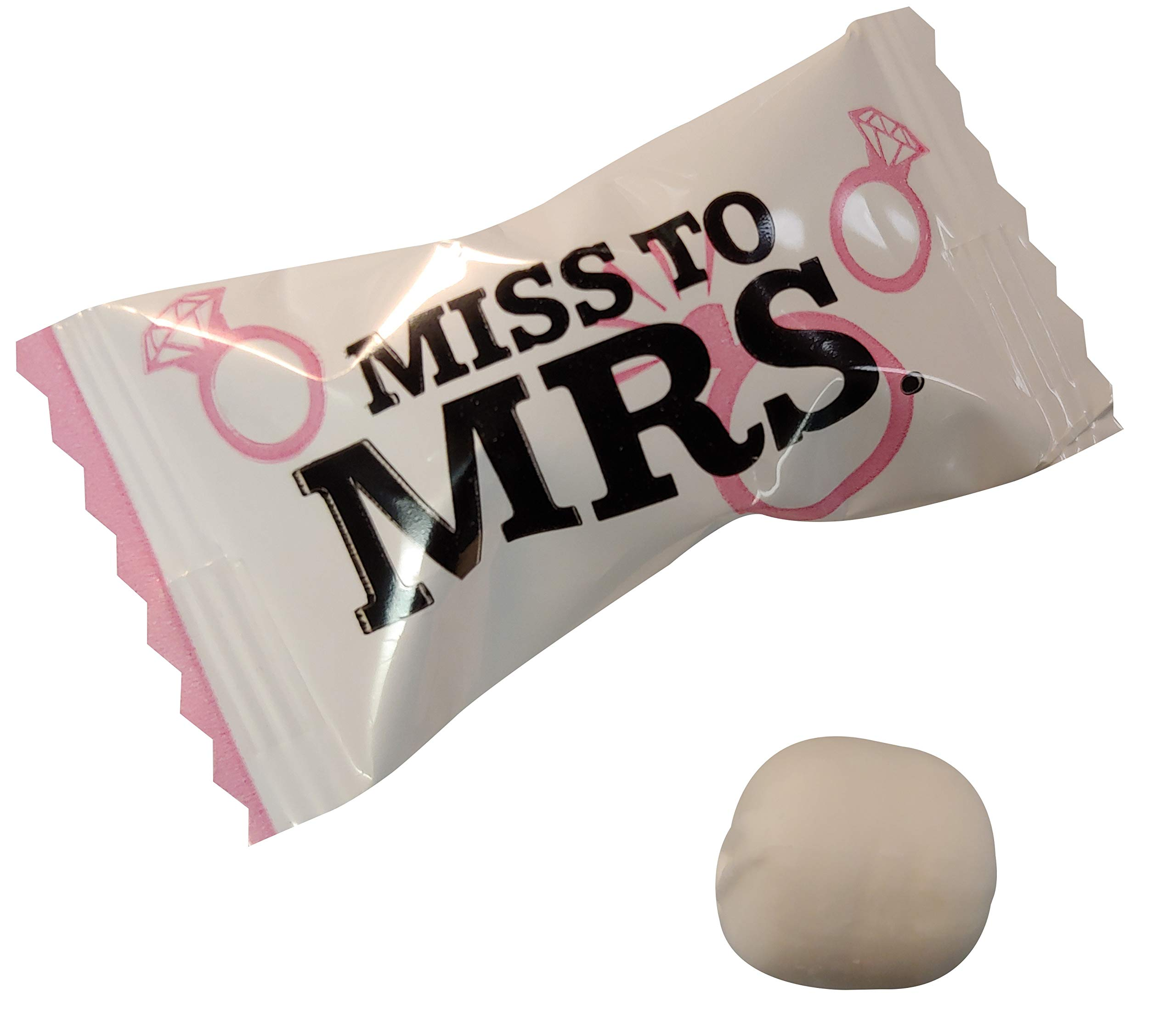 Bachelorette Party Wrapped Buttermints 100 Count Wrapped -Last Night Out - Bride To Be Candy