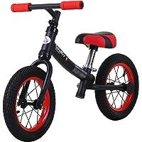 HOMCOM Bicicleta sin Pedales Sillín Regulable 31-45cm Recomendado para niños + 2 Años Rueda de Goma Carga 25kg…