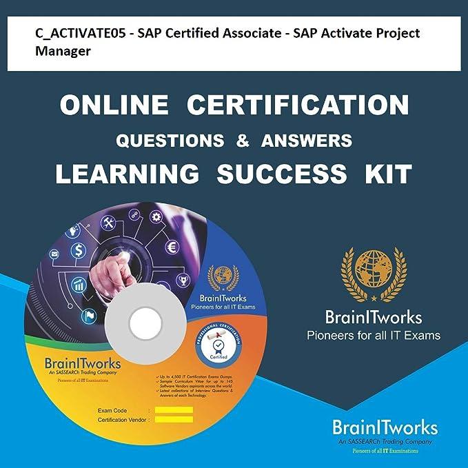 Amazon Buy Cactivate05 Sap Certified Associate Sap Activate