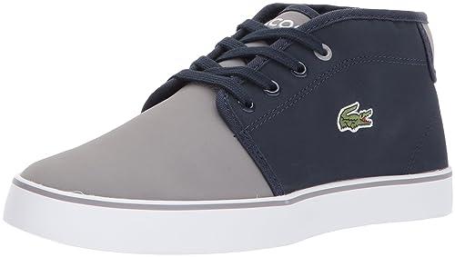 9c4b4a53c541d Amazon.com | Lacoste Kids' Ampthill 417 1 CAJ Sneaker | Sneakers