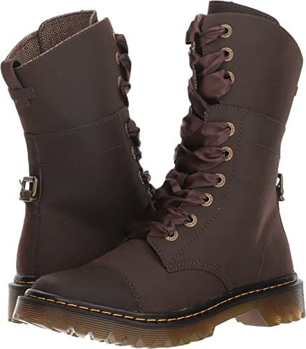 94dca6969 Amazon.com | Dr. Martens Womens Yuba Fold Down Boot | Shoes