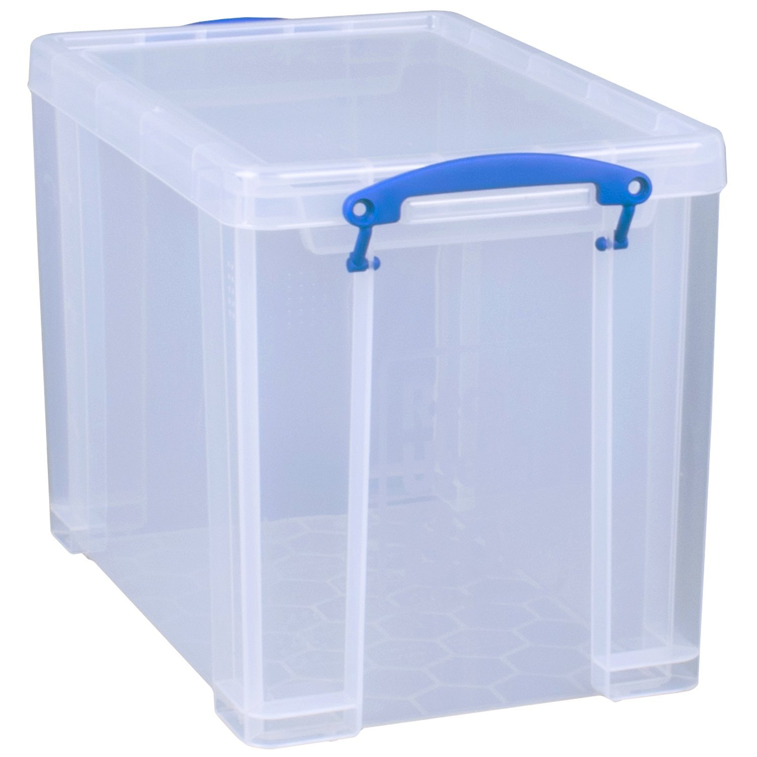 Amazon Com Really Useful Box Plastic Storage Box  1  1  1 8 Clear Office Products