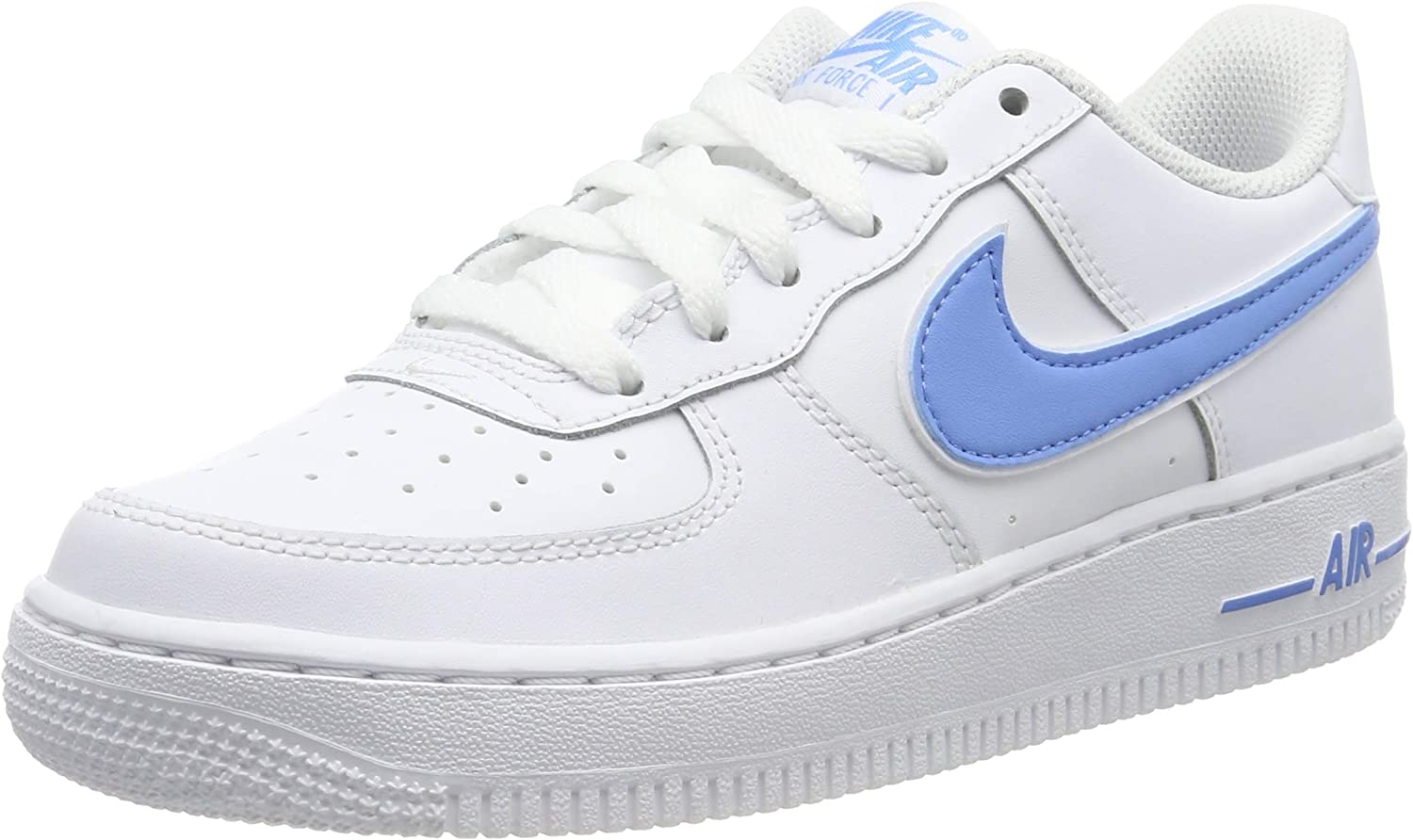 Nike Air Force 1 3 (GS), Chaussures de Basketball Homme