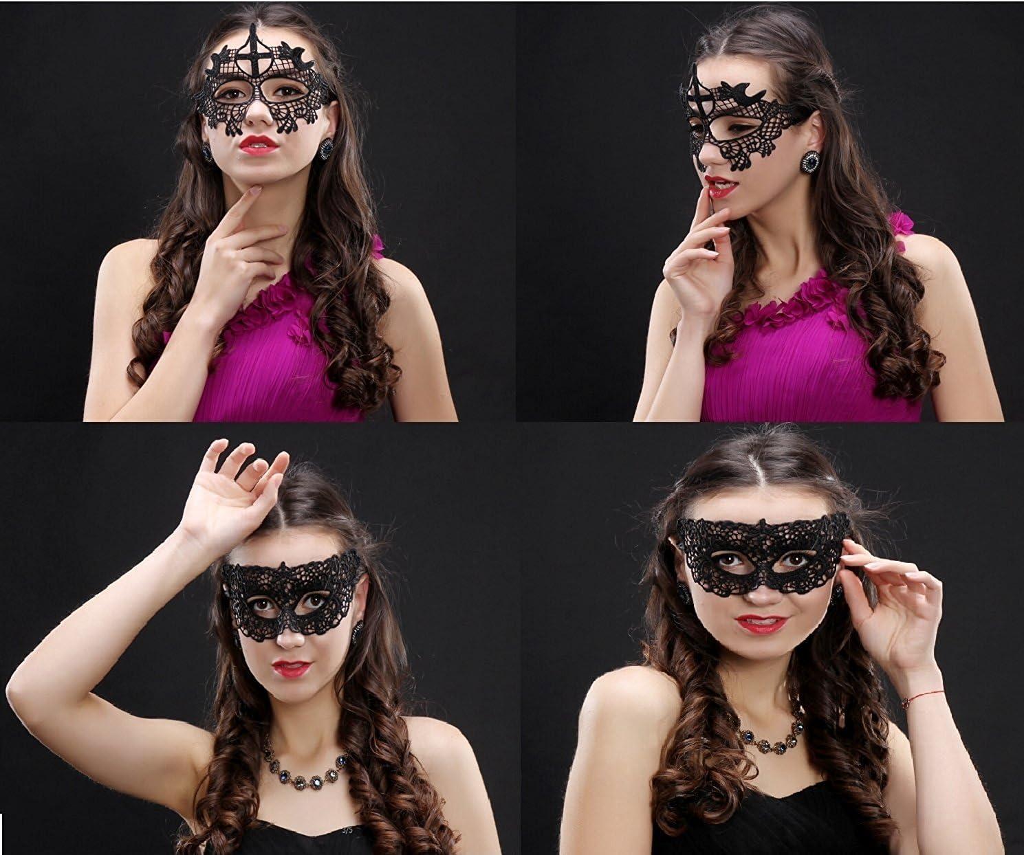 Máscara Gótica Estilo Veneciano Amaza
