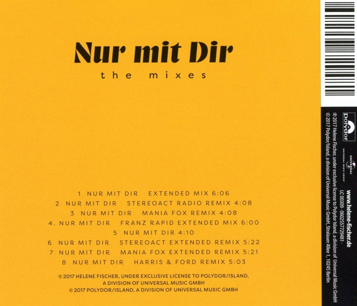 Nur Mit Dir The Mixes Helene Fischer Amazonde Musik