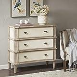 Madison Park Alcott 3 drawer chest Natural/Cream See below