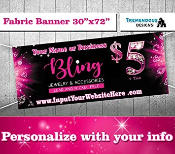 Amazon.com: Paparazzi Bling Banner - 30.0 x 72.0 in Cartel ...