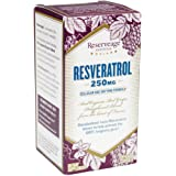 Reserveage - Resveratrol 250mg, Cellular Age-Defying Formula, 120 vegetarian capsules