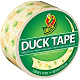 Duck Brand 283924 Printed Duct Tape, Pineapple Delight, 1.88 Inches x 10 Yards, Single Roll