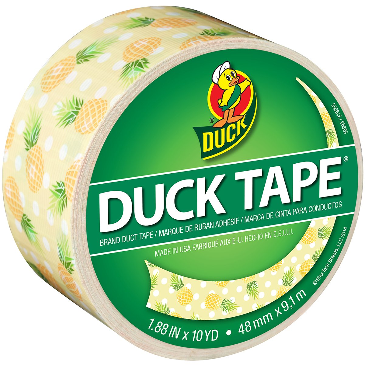 Multicolor Duck Brand 241792 Duct Tape 3.5 X 3.5 X 2