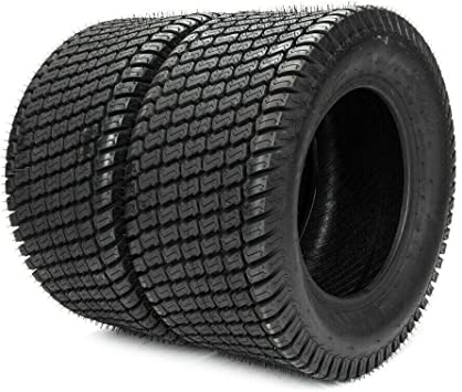 2x 4.10//3.50-4 Turf TYRES /& TUBES Ride-on Lawnmower Sack Truck Trolley 410 350 4