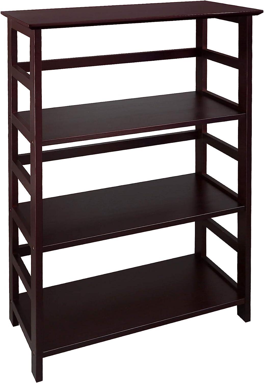 Casual Home Soho Manhattan 4-Shelf Bookcase 26 Wide - Espresso, 304-44
