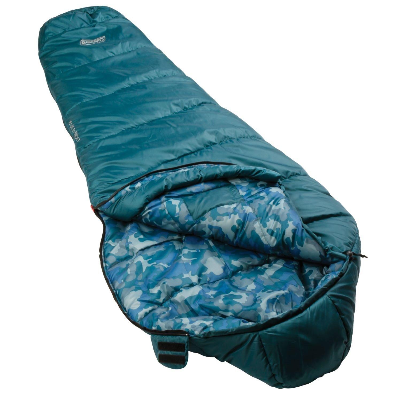 Amazon Coleman Kids 30 Degree Sleeping Bag Blue Bandit Sports Outdoors