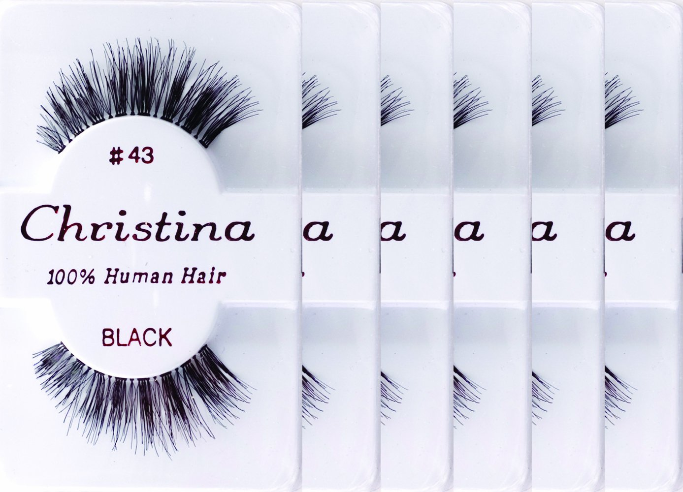 Christina 6packs Eyelashes - #43
