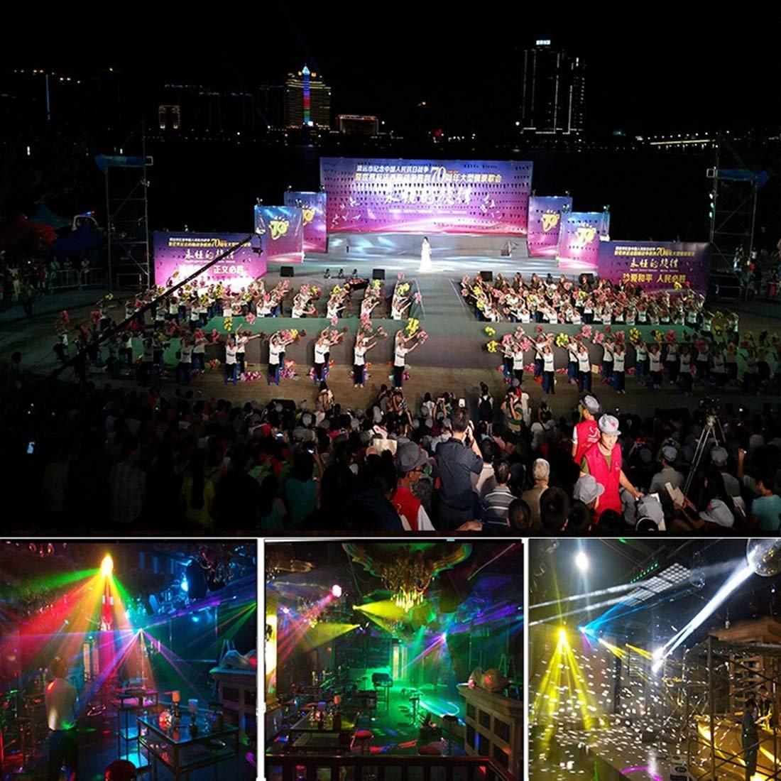 stage lighting 30W Mushroom Magic Ball LED Crystal Light, Master/Slave / DMX512 / Auto Run/Sound Control Modes, AC 220V by stage lighting (Image #8)